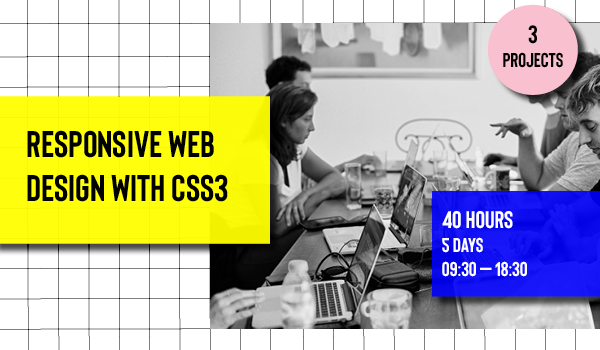 Responsive web design with CSS3 course in Barcelona Code School